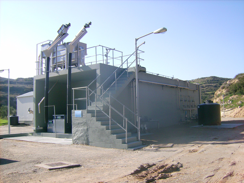 treatmet of leachate from a landfill Landfill operators have traditionally dealt with leachate by discharging it to publicly owned treatment works (potws) as a simple and inexpensive disposal method but as potws face tighter.