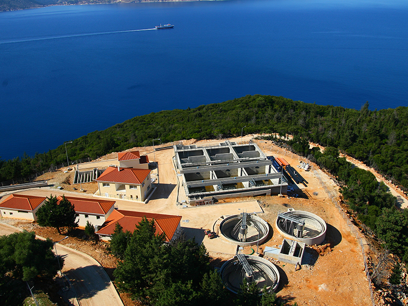 Wastewater Treatment Plant in Sami, Kefalonia