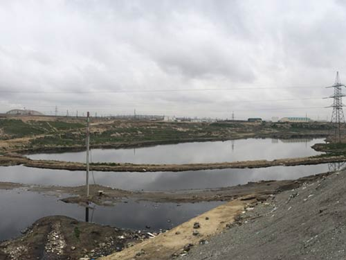 Κλείσιμο & αποκατάσταση Χώρου Ταφής Απορριμμάτων Balakhani