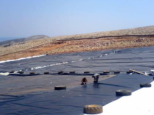 Folegandros  Sanitary Landfill Site
