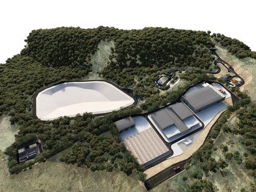 Landfill Site Construction of Ilia Regional Unity