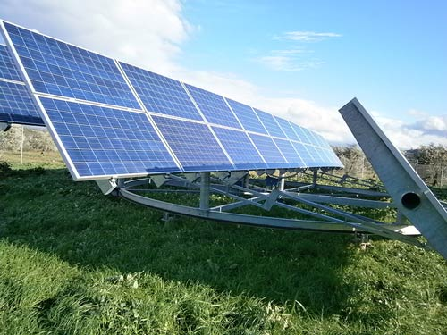 Φωτοβολταϊκοί Σταθμοί 200 kWp με Tracker - Θέση