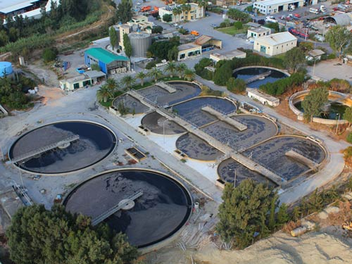Wastewater Treatment Plant In Heraklion, Crete