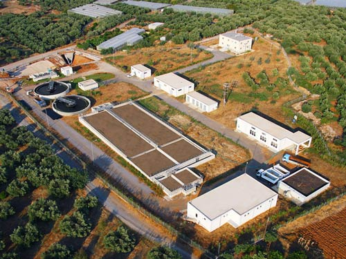 Design, Construction and Operation of the Wastewater Treatment Plant in the Municipality of Malia-Crete