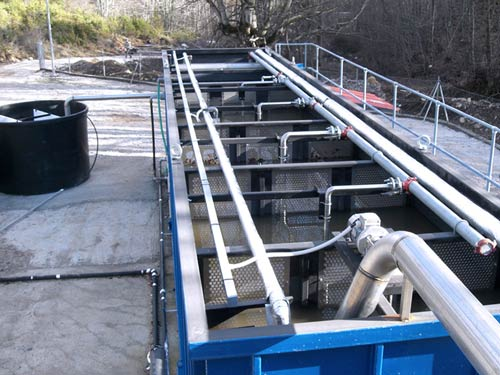 Equipment Supply Kato Vermio (Seli) WWTP